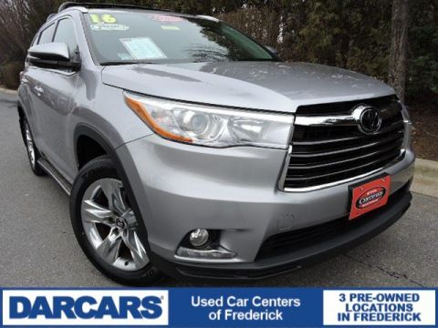 Certified Pre-Owned 2016 Toyota Highlander Limited Platinum AWD Sport Utility