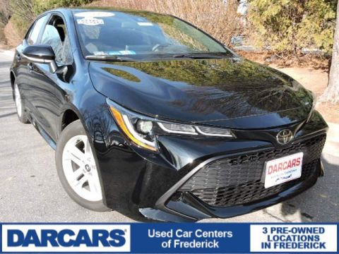 Pre-Owned 2019 Toyota Corolla Hatchback SE FWD Hatchback